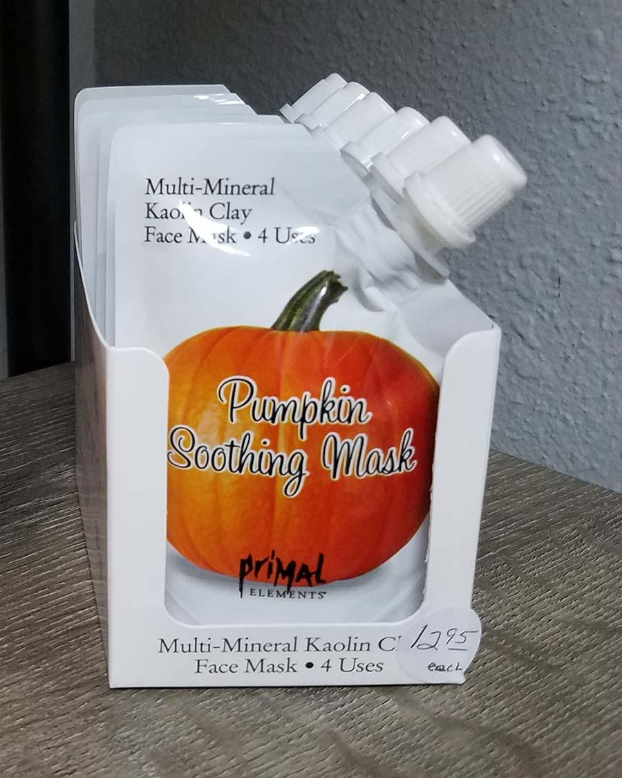 pumpkin soothing mask