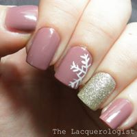 Manicure with nail art